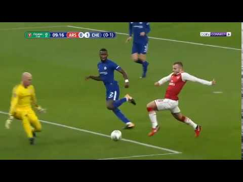 Arsenal vs Chelsea 2-1 All Goals & Highlights | Carabao Cup  24-01-2018