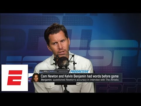 Cam Newton confronts Kelvin Benjamin: Which other NFL QBs would have? | The Will Cain Shown | ESPN
