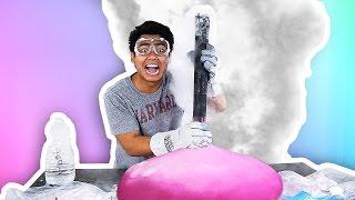 WUBBLE BUBBLE DRY ICE EXPERIMENT!