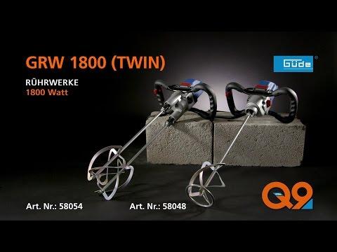 Güde Rührwerke GRW 1800 / GRW 1800-2 TWIN - #58054 - 58048