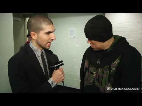 UFC 111 Nate Diaz Probably Headed Back to 155 Hates Kurt Pellegrino