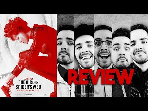 The Girl in the Spider's Web - Multiple Personality Movie Review