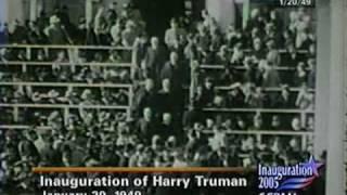 President Truman 1949 Inauguration