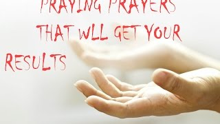20170314 l KSM l Telugu l Praying Prayer that will get Your Results l Pas. Michael Fernandes