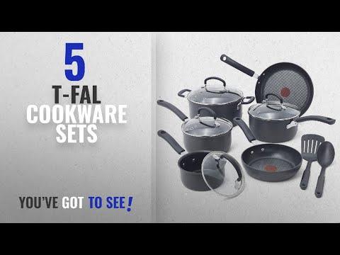 Best T-Fal Cookware Sets [2018]: T-fal E765SC Ultimate Hard Anodized Scratch Resistant Titanium