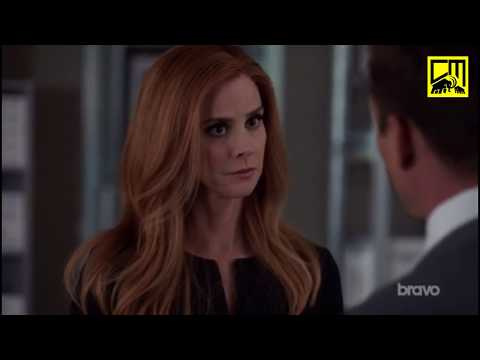Donna Tells Harvey To Call Mike Ross! - Suits 8x03 'You Have To Let It Go!'