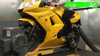 7. Triumph Daytona 600 Dyno power run P3 Tuning Liverpool