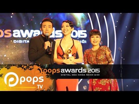 Lê Trao giải POPS Awards 2015 Full HD