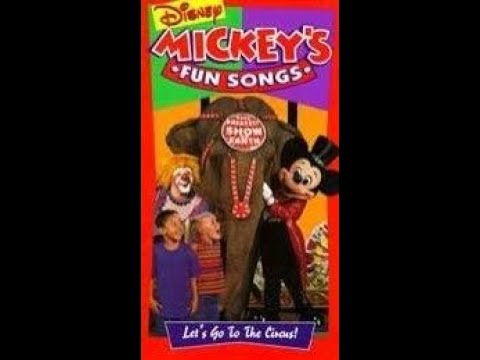 Mickey's Fun Songs - Let's Go to the Circus! (1994)