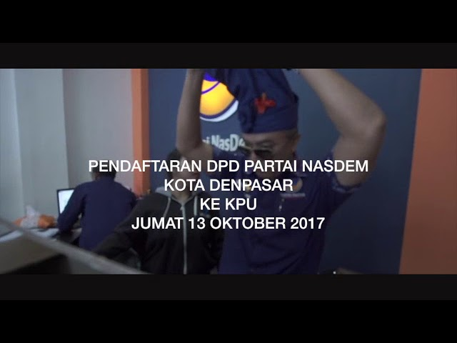 Pendaftaran-DPD-Partai-NasDem-Kota-Denpasar-ke-KPUD-Denpasar.html