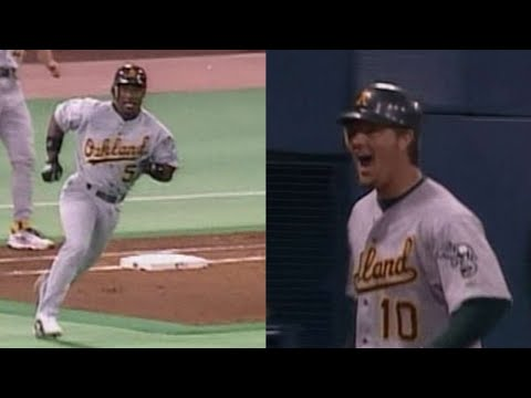 Video: 2002 ALDS Gm3: Durham, Hatteberg go back-to-back