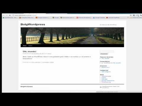 Vídeo aula adicionado o Google Analytics no WordPress
