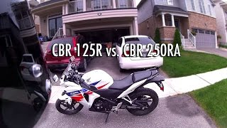 5. Honda CBR125R vs CBR250R Comparison Review