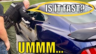 COP Pulls Over MUSTANG SHELBY and This Happens...