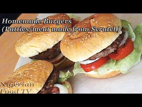 Homemade Burger in a Pan (no grill, no oven)