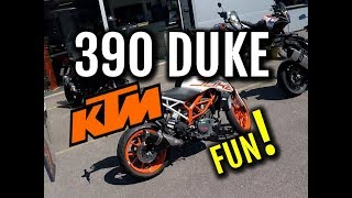 6. KTM 390 Duke - 2018 - Review and Ride. Do the best things come in small packages?