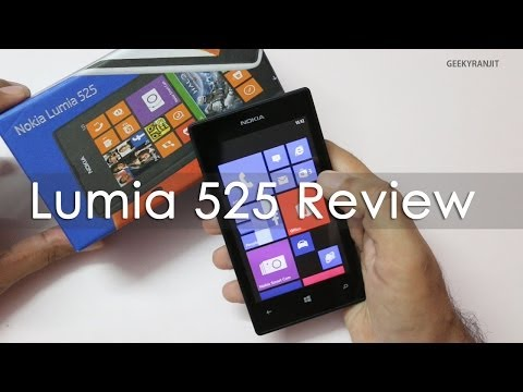 Nokia Lumia 525 Windows Phone 8 Review