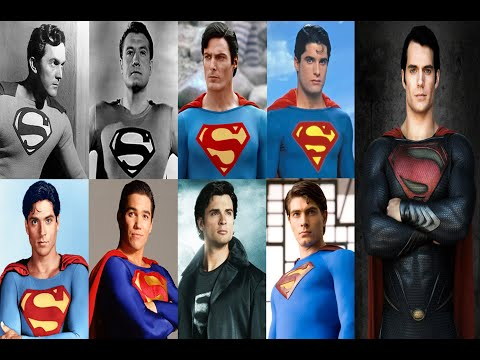 Superman Actors: 1948, 1951, 1978, 1988, 1989, 1993, 2001, 2006, 2013