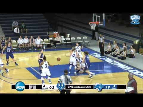 CNU Women's Basketball vs Washington & Lee 11.15.15