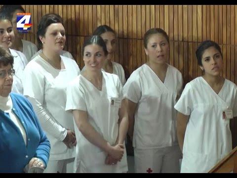Nuevos egresados de la Escuela de Enfermería de la Cruz Roja Departamental