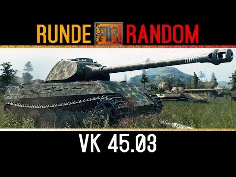 World of Tanks | [GER] RR #16 - VK  45.03 (видео)