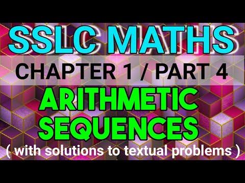 ARITHMETIC SEQUENCES / SSLC MATHS / PART 4 / ALGEBRAIC EXPRESSION OF AN ARITHMETIC SEQUENCE