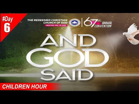 RCCG 2019 HOLY GHOST CONVENTION #Day6- Afternoon