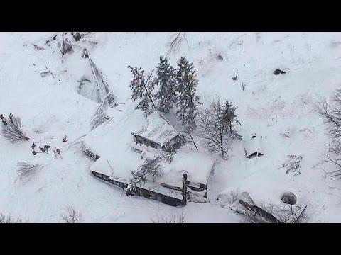 Ιταλία: Δεκάδες αγνοούμενοι σε ξενοδοχείο-καταπλακώθηκε από χιονοστιβάδα