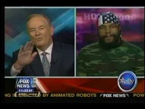 O'Reilly Interviews Mr. T About Snickers Commerical
