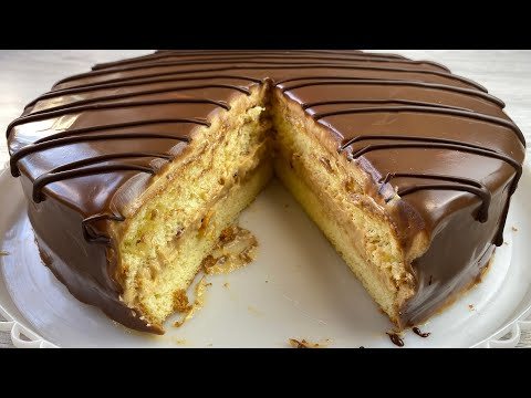 TEZ VA OSON SHOKOLADLI TORT TAYYORLASH / Домашный Шоколадный торт