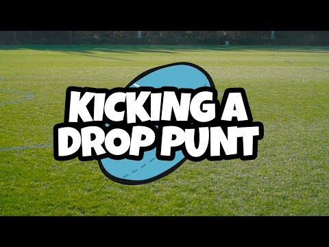 How To Play AFL - 5. Kicking A Drop Punt