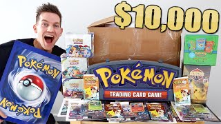 Opening a $10,000 Pokémon Mystery Box (*NOT CLICKBAIT*) by Unlisted Leaf