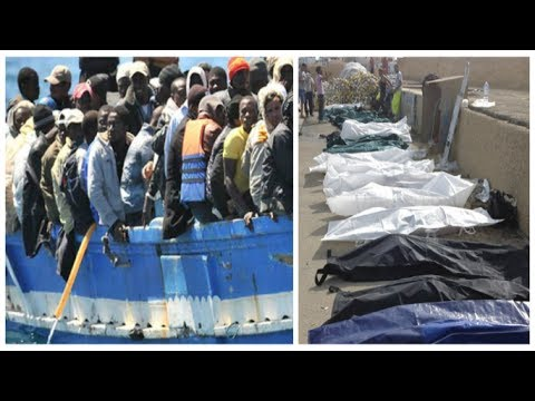 Lampedusa shipwreck: migrant boat capsizes killing dozens