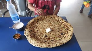 Rohtak India  City pictures : Big Paratha - Popular Indin Breakfast | 2 Feet - 1.25Kg Big Paratha
