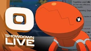 Pokemon OR/AS! OU Showdown Live w/PokeaimMD & Emvee! - Stuck in a Trapinch by PokeaimMD