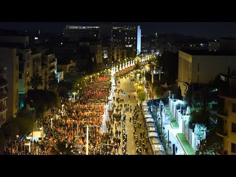 Large and militant demonstration of the KKE and KNE at the US embassy