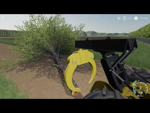 John Deere construction yellow skidder v1.0