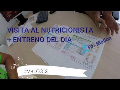 Visita al nutricionista Fit In Motion + Entreno del día  #VBLOG13