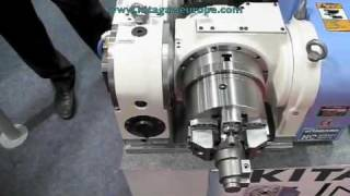 Kitagawa TT182 Rotary Table with Pneumatic Gripper - How It Works