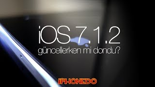 iOS 7.1.2 Güncelleme Hatası (CC in English)