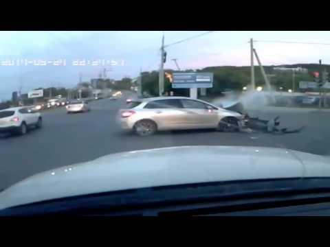 Двойная авария в Екатеринбурге