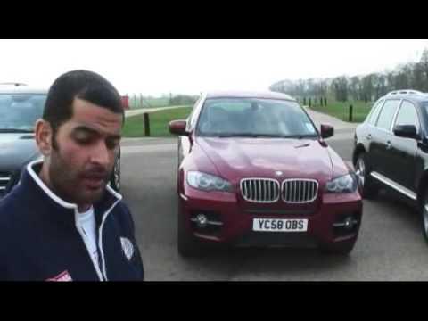 Audi Q7 V12 TDI quattro, Porsche Cayenne, BMW X6, Mercedes-Benz ML63 AMG