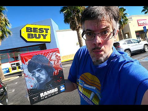 Only At Best Buy Baby - Rambo Steelbook Collection Blu-ray Tuesday