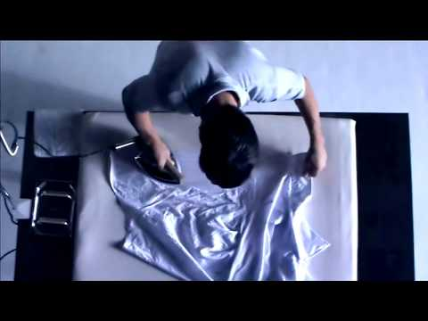 Man ironing a shirt [3:05]