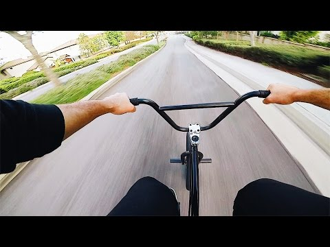 INTENSE SPEED BMX HILL BOMB *NO BRAKES* (видео)