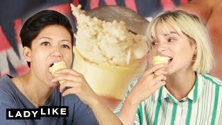 Video We Competed To Make The Best Ice Cream Flavor • Ladylike MP3, 3GP, MP4, WEBM, AVI, FLV Maret 2019