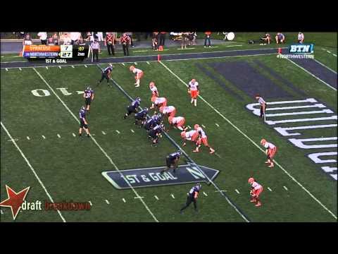 Durell Eskridge vs Northwestern 2013 video.
