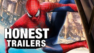 This episode is brought to you by the new Samsung Chromebook Plus. Learn more: http://bit.ly/2kFegRdBefore you see the solo spin-off to the soft reboot crossover, revisit the sequel to the premature reboot to the original Spider-Man trilogy - The Amazing Spider-Man 2! Get your tickets for ScreenJunkies Central! ►► http://www.ScreenJunkies.com/TicketsEnter the sweepstakes for ScreenJunkies Central! ►► http://www.ScreenJunkies.com/SJCentralCheck out CinemaSins' version of The Amazing Spider-Man 2 Honest Trailer! ►►https://www.youtube.com/watch?v=6cWS-E1utN4Got a tip? Email us ► feedback@screenjunkies.comFollow us on Twitter ► http://twitter.com/screenjunkiesLike us on Facebook ► http://www.fb.com/screenjunkiesGet ScreenJunkies Gear! ►► http://bit.ly/SJMerchDownload our iPhone App! ►► http://bit.ly/SJAppPlusDownload our Android App! ►►http://bit.ly/SJPlusGoogleAppVoiceover Narration by Jon Bailey: http://youtube.com/jon3pnt0Title design by Robert Holtby Got a tip? Email us ► feedback@screenjunkies.comFollow us on Twitter ► http://twitter.com/screenjunkiesLike us on Facebook ► http://www.fb.com/screenjunkiesGet Screen Junkies Gear! ►► http://bit.ly/SJMerchDownload our iPhone App! ►► http://bit.ly/SJAppPlusDownload our Android App! ►►http://bit.ly/SJPlusGoogleAppVoiceover Narration by Jon Bailey: http://youtube.com/jon3pnt0Title design by Robert HoltbySeries Created by Andy Signore - http://twitter.com/andysignore & Brett WeinerExecutive Producer - Andy SignoreProducers - Dan Murrell, Spencer Gilbert, Michael Bolton, Christina KlineWritten by Spencer Gilbert, Joe Starr, Dan Murrell & Andy SignoreEdited by Kevin Williamsen and TJ NordakerAlso while we have you, why not check out our Emmy-Nominated HONEST TRAILERS!Deadpool (Feat. Deadpool)http://bit.ly/HT_DeadpoolGame of Thrones Vol. 1http://bit.ly/HT_GOTv1Frozen http://bit.ly/HT_FrozenHarry Potter http://bit.ly/HT_HarryPotterBreaking Bad http://bit.ly/HT_BreakingBadThe Lord Of The Ringshttp://bit.ly/HT_LordOfTheRingsStar Wars Force Awakens http://bit.ly/HT_ForceAwakensBatman v Superman: Dawn of Justice http://bit.ly/HT_BvS