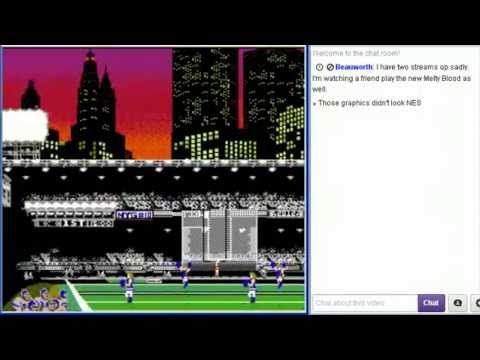 Tecmo - It's Stream Time again. This time: Tecmo Super Bowl 2013 (NES) - Chargers @ Ravens. This crazy, over the top live streaming of me playing a damn good, balls ...
