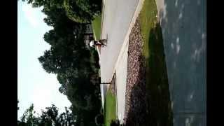 7. quarter mile power wheelie on a 2012 honda crf 250!!